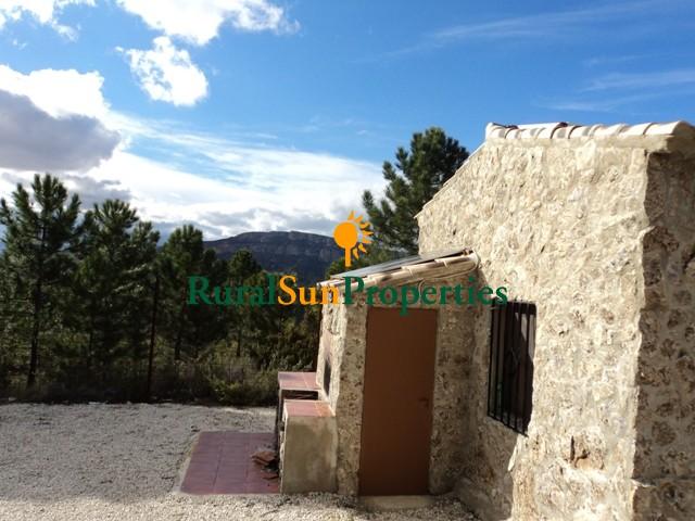 House in the mountains Murcia-Moratalla.