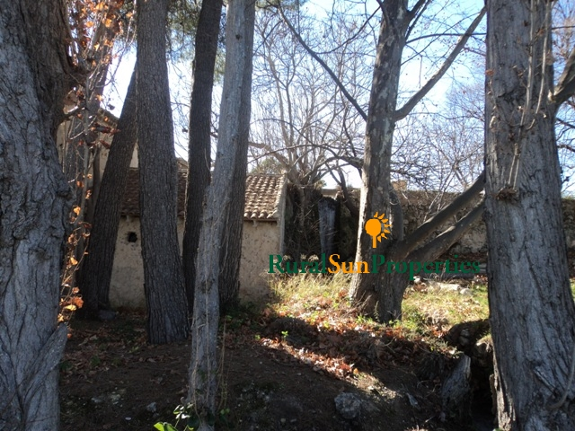 Old farm cortijo with mill on a plot of 5ha. Murcia inland Caravaca de la Cruz