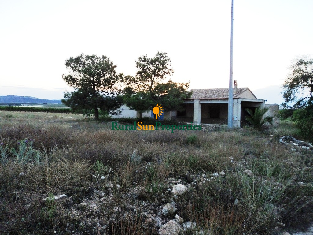 Mula farm for sale with 27,000 sq.m and house and shed in protected area very well connected.