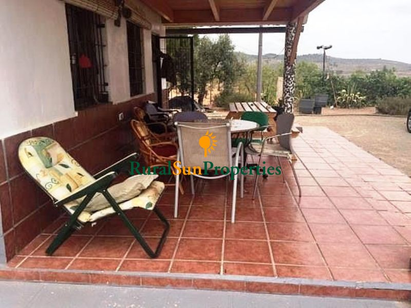 House for sale on the mountains with a plot of 12,000m² fully fenced