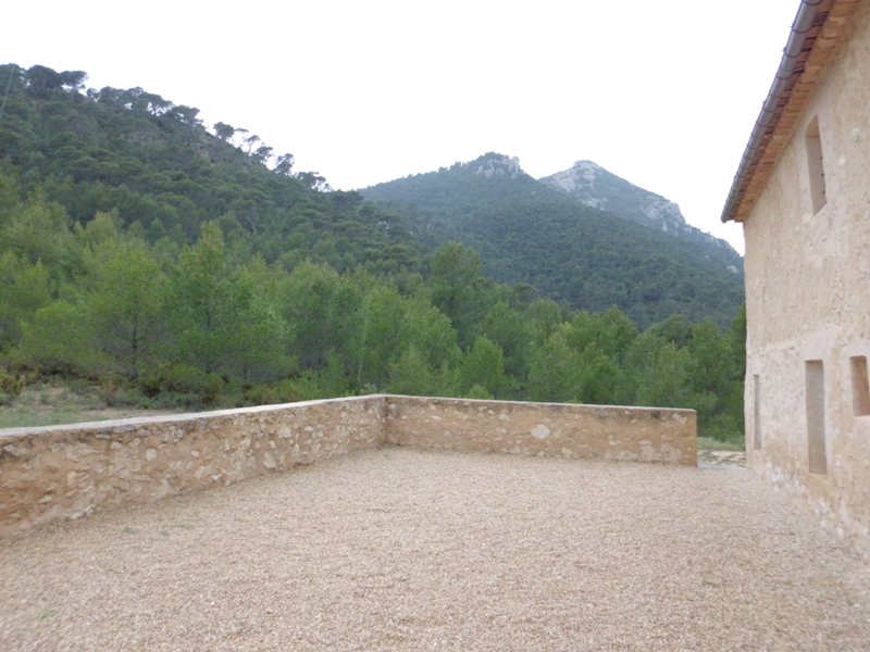 Country masia on the mountains of Alicante, 30 minutes drive from beaches.