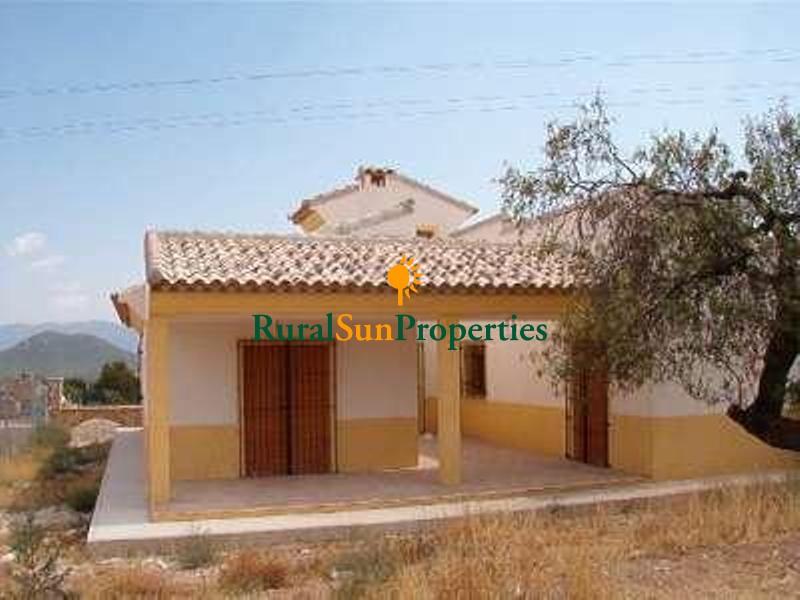 Finca/casa rural a estrenar en Velez Rubio Almeria