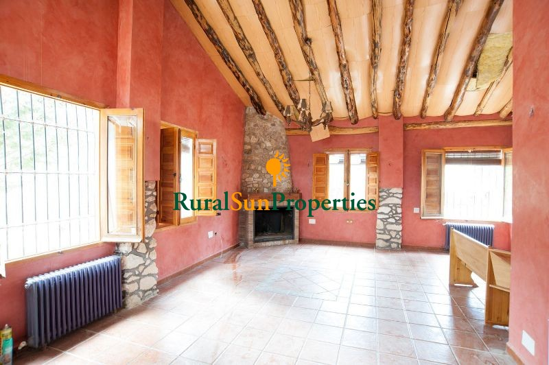 Murcia Inland Country house in the mountains 43 acres of forest spring water running.