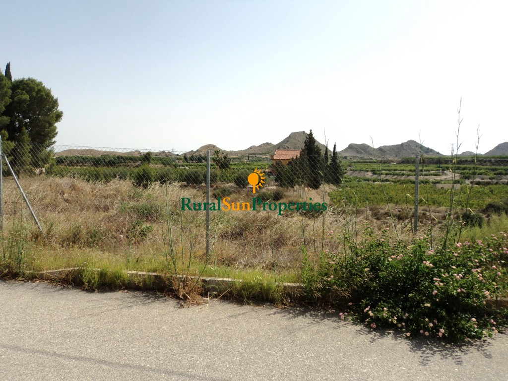 Building plot in Archena, Murcia.
