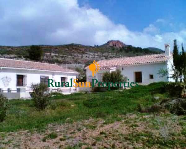 Dos Casas en finca bonita en Lorca-Murcia