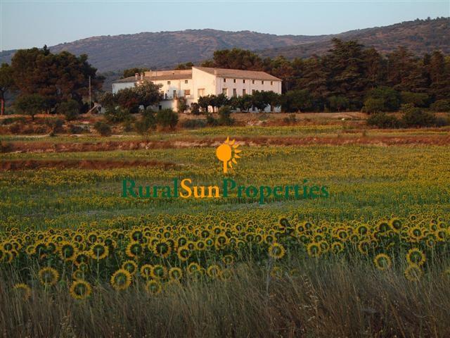 Venta Finca Masía interior de Alicante 175 ha.