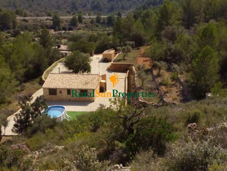 Venta Casa Rural de piedra, Alicante