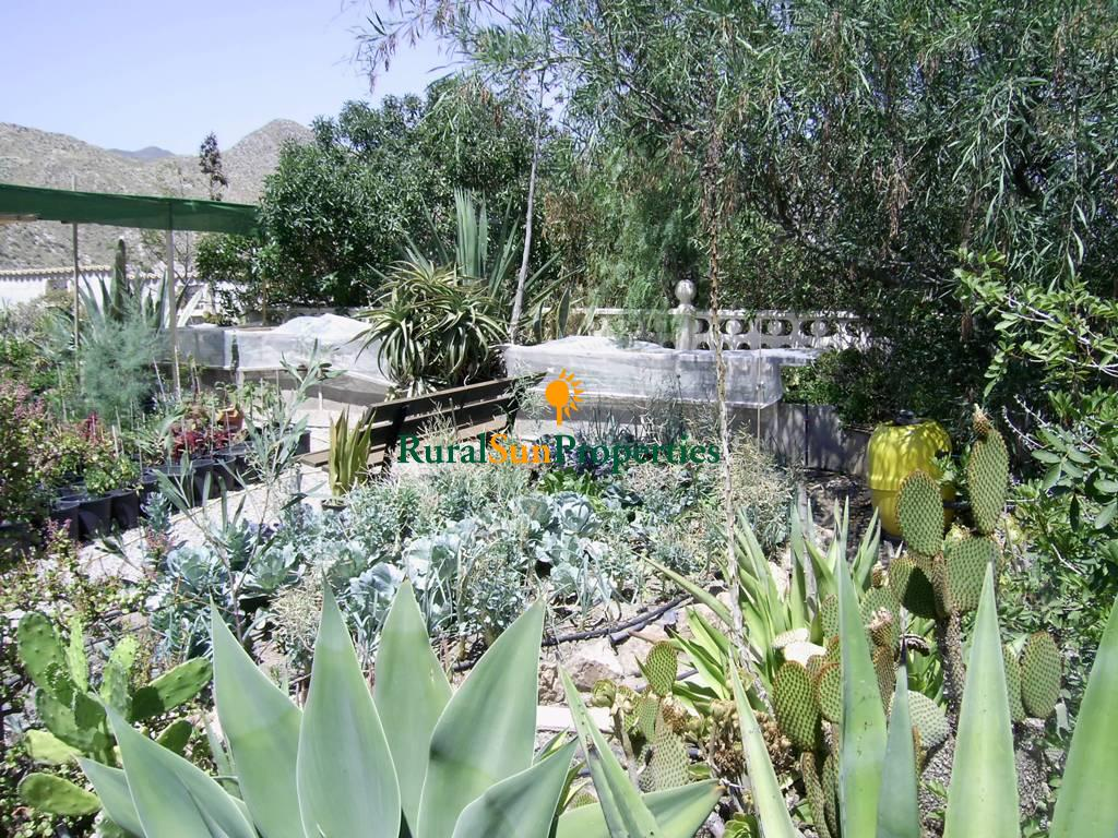Sale country house, pool and sea views set on a plot of 26.000 sq.m in Aguilas.